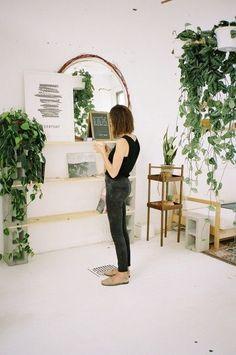 Miroir et plantes d'intérieur // Un duo très lumineux dans la déco – DecouvrirDesign