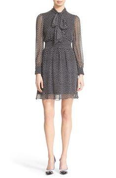 Diane von Furstenberg 'Arabella' Dot Print Silk Dress available at #Nordstrom
