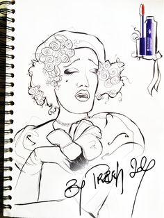 Mon CAHIER de Gribouillis - ROTRING 1 - Esquisse N&B - La Magie de la création