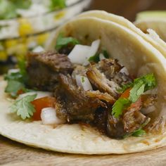 Carnitas you can use to make delicious tacos or burritos! Pork butt Pork shoulder