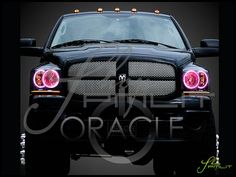 Pink headlights? Yes, please!!!! <3 You hear that? That was my heart breaking! In L-O-V-E!!