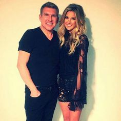 Todd Chrisley With Daughter Lindsie Chrisley