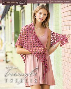Universal Yarn - FN1-4 - Triangle Trellis (crochet)