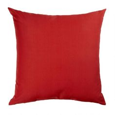 One of my favorite discoveries at ChristmasTreeShops.com: Solid Red Indoor/Outdoor Floor Cushion Pillow
