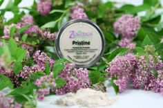 Pristine Finishing Powder. Pristine Finishing Powder is matte; sets all of your makeup after you are done applying it. The slight tint keeps the powder translucent, it does not lighten the complexion. $25 #mineralmakeup #makeup #cosmetics #beauty #handmade #ecofriendly #crueltyfree #vegan