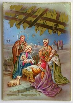 WESOLYCH SWIAT BOZEGO Narodzenia Merry Christmas Postcard (P295) - $1.76. Shipping/Post: Item will be carefully packaged and shipped same day. Combined Post is available. 323236108701 Christmas Nativity Set, Christmas Scenes, Christmas Time, Merry Christmas, Xmas, Christmas Barbie, Vintage Christmas, Jesus Christus, Holy Night