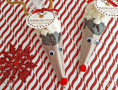 Rudolph Hot Cocoa with Free Printable Gift Tags Simplistically Living