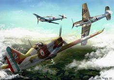 Dewoitine D.520 vs Messerschmitt Bf-109