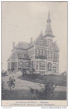 Ninove   Le Chateau Kasteel L'avocat L.Cosyns  Bourgmestre van Meerbeke