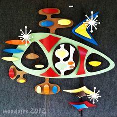 Stevotomic Wall Art - Courtesy of ModPopShop Modernism Week event in Palm Springs.