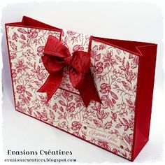 Christmas Baskets, Christmas Cards, Kings Crown, Paper Gift Bags, Mini Albums, Stampin Up, Decorative Boxes, Paper Crafts, Gift Wrapping