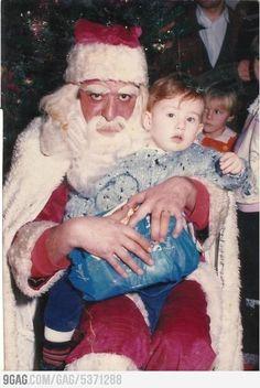 Ich bin mir ziemlich sicher, dass dies nur ein böser Zauberer im Weihnachtsmannkostüm ist: