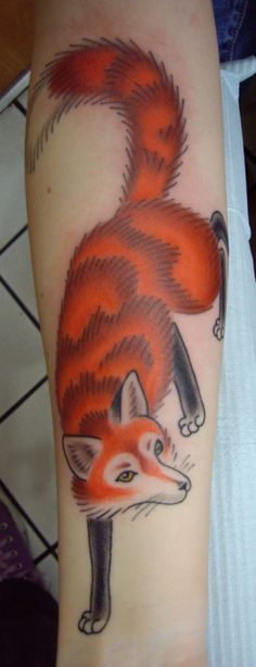 Tattoo<3 This is my baby, Mr. Sly. I got him for a number of reasons. One, foxes are my favourite animal. Two, the fox is my favourite character from one of my favourite books, The Little Prince. Three, I love everything they represent. Done by Tyson at Passage Tattoo in Toronto, Ontario. Definitely check them out! Tattoo~