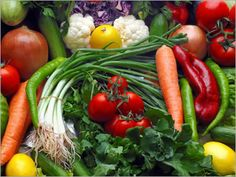 Any fresh veggies or fruit - raw or cooked al dente