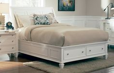 Coaster Sandy Beach California King Bed Collection - 201309KW