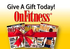 The perfect gift idea! A subscription to OnFitness Magazine. #holiday2014 #holidaygift #fitness #fitnessgift #OnFitness #workout #knowledge #science #health #Christmas #Hanukkah #newyear #newyearnewyou #hawaiifitness