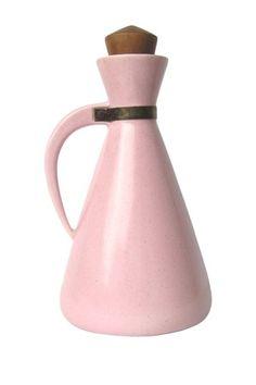 Ceramics  : Vintage Atomic Pink Decanter