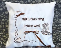 pin by brittany yates on i thee wed pinterest love - With This Ring I Thee Wed