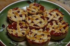Homemade Mini Cherry Pies with Blue Bell Ice Cream - MyLitter ...