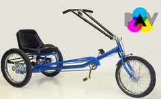 afde9042355 Worksman Personal Activity STRETCH Low Rider - PALR-3CB-STR Low Rider,  Tricycle