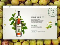 The site is now live! Another from the Bramley & Gage liqueurs collection, with the final artwork in place! Greengage is one of their best sellers so I thought I'd do a little shout about that ...