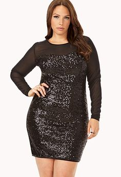 Dazzle 'Em Bodycon Dress | FOREVER21 PLUS - 2000073972  #ForeverHoliday