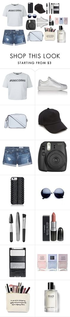 """Sin título #116"" by yeyamqz ❤ liked on Polyvore featuring New Look, Prada Sport, Tory Burch, rag & bone, AG Adriano Goldschmied, Fujifilm, Savannah Hayes, Sephora Collection, Nails Inc. and Bobbi Brown Cosmetics"