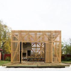 a building for summer dinners