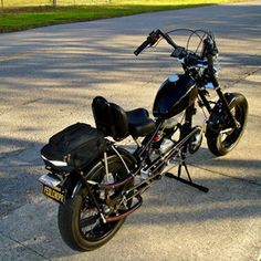 Photos of custom motorized bicycles.See OCC Schwinn Stingray choppers we've motorized.Also rat rods & cruisers, e-bikes or ones with gas and electric motors. Best Electric Bikes, Gas And Electric, Bike Chopper, Gas Powered Bicycle, Bicycles For Sale, Antique Motorcycles, Motorised Bike, Motorized Bicycle, Choppers