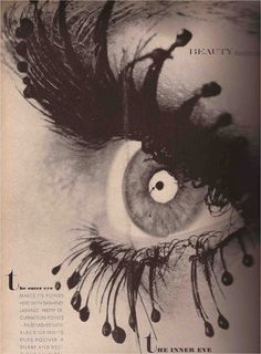 false eyelashes from Hair Hunters Los Angeles  Vogue April 1969