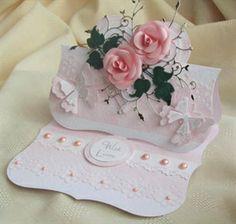 Birthday---- sooooooo pretty, a present in itself.  This would so be pretty as a wedding card