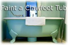 how to remove paint from a vintage bathtub? - Google Search