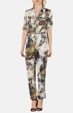 White Floral Jumpsuit by Topshop. Buy for $138 from Nordstrom