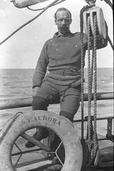 Australian Photography, Male Photography, Heroic Age, Early Explorers, Vintage Sailor, Sea Captain, Out To Sea, Tall Ships, Antarctica