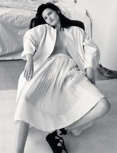 Publication: Numéro Russia #014 June/July 2014 Model: Katlin Aas Photographer: David Roemer Fashion Editor: Vittoria Cerciello Hair: Nicholas Eldin Make-up: Frankie Boyd