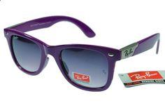 Ray-Ban Wayfarer 2140 Purple Frame Gray Lens RB78
