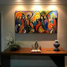 Christian Paintings, Christian Art, Abstract Geometric Art, Abstract Wall Art, Gold Leaf Art, Jesus Painting, Jesus Art, Modern Art Paintings, Religious Art