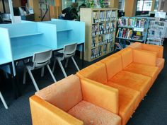 Furniture close to school colours, St Aloysius College