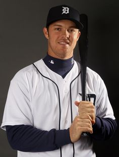 LAKELAND, FL - FEBRUARY 28:  Brennan Boesch #26 of the Detroit Tigers poses for a portrait on February 28, 2012 at Joker Marchant Staduim in Lakeland, Florida.  (Photo by Elsa/Getty Images