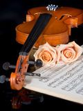 Violin,flower On Music Paper - Download From Over 62 Million High Quality Stock Photos, Images, Vectors. Sign up for FREE today. Image: 2130915