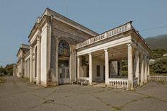 Russia abandoned 13 Abandoned Railway Station in Abkhazia (20 Photos)
