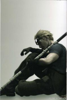 Cid Highwind -Final Fantasy VII Arte Final Fantasy, Final Fantasy Artwork, Final Fantasy Characters, Fantasy Series, Fantasy World, Final Fantasy Collection, Fanart, Cloud Strife, Dragon Age