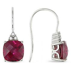 Ruby earrings  this Mom would like