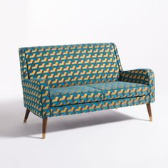 afbeelding Canapé (Y) La Redoute Interieurs Vintage Sofa, Sofa Design, Sofa Chair, Couch, Art Deco, Outdoor Furniture, Outdoor Decor, Love Seat, Ottoman