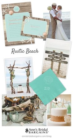 Rustic Beach Wedding