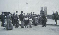 Teatro dei burattini a Napoli nel 1911