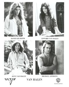 Van Halen was my favorite group when I was a teen. THIS Van Halen, not anything after.