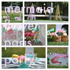 Mermaid Flower Paris Party |Part One|