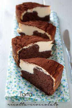 torta ricotta cioccolato particolare