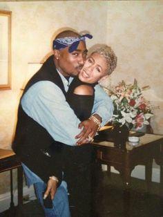 Tupac and Jada Pinkett